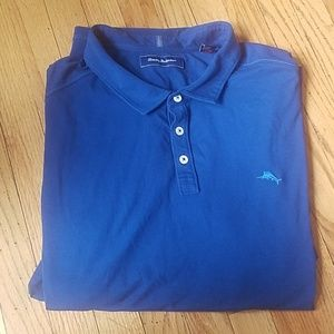 Tommy Bahama Mens collared button up Polo shirt